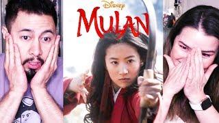 DISNEY'S MULAN | Live Action | Official Teaser | REACTION | Yifei Liu, Jet Li, Donnie Yen, Li Gong