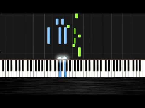 The Addams Family Theme - Piano Tutorial (Easy) By PlutaX - Synthesia