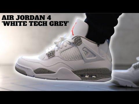 Air Jordan 4 Retro 'Tech White' Review + On Feet