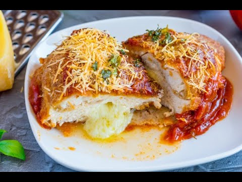 Stuffed Chicken Parmesan: too tasty not to try!