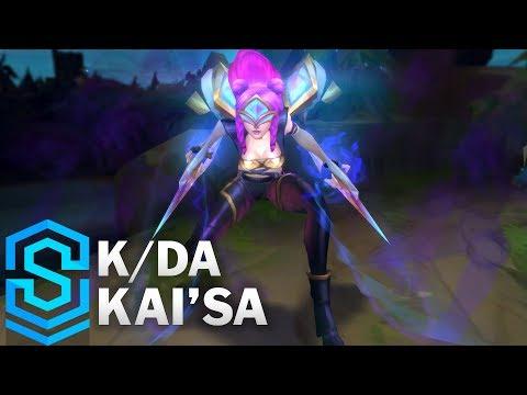 K/DA 凱莎