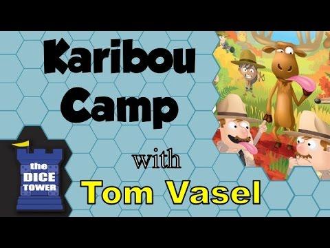 Karibou Camp Review - with Tom Vasel