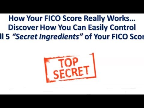 How FICO Scores Really WORK