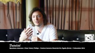L'Œil Du Spectacle Interview Peter Henry Phillips Pigalle 9 Décembre 2016