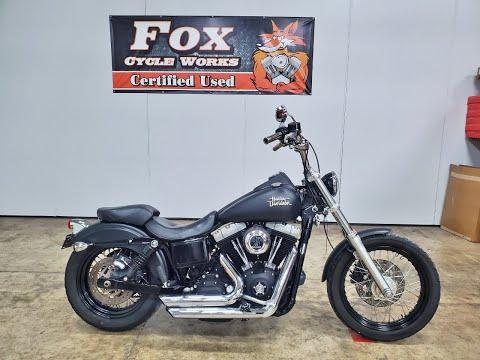 2010 Harley-Davidson Dyna® Street Bob® in Sandusky, Ohio - Video 1