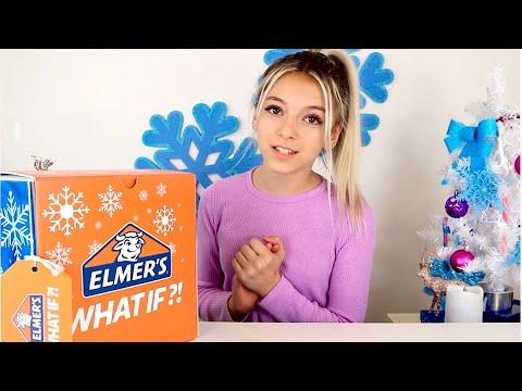 DIY Holiday Slime Kit | Fluffy Glitter Slime | Coco Quinn