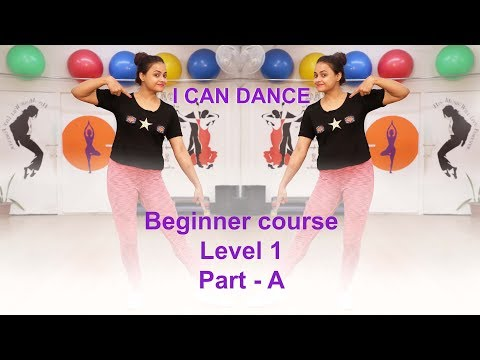 How to dance for Beginners  Level 1   I Can Dance    Aditi teaches how to dance