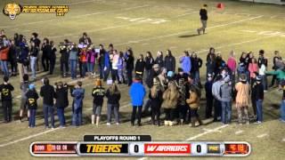 Prairie Grove (45) vs Westside (14) 2015