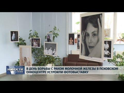 15.10.2019 / В Псковском онкоцентре устроили фотовыставку