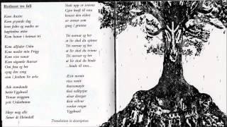 Wardruna   Rotlaust Tre Fell ( With Lyrics And Translation ) HQ