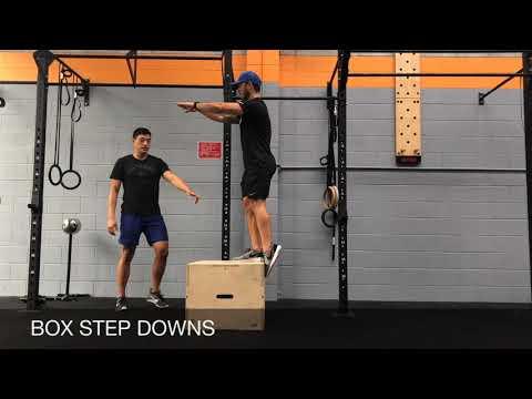 BOX STEP-DOWNS