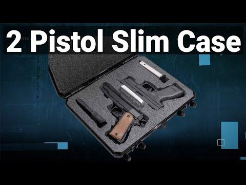 2 Pistol Slim Case - Featured Youtube Video