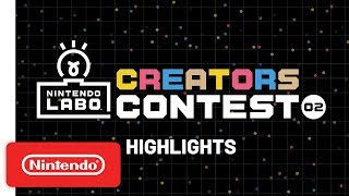 Nintendo Labo Creators Contest No. 2 Highlights