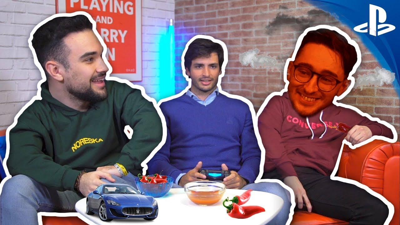 Carlos Sainz en Conexión PlayStation presenta Ponle Freno con Gran Turismo Sport