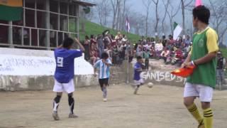 preview picture of video 'TeeGschwendner's Thomas Holz bei den Fußball Teegartenmeisterschaften in Darjeeling'