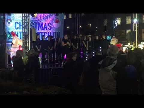 Students kick off festive celebrations at Christmas Light Switch on