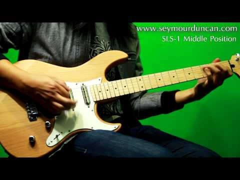 Seymour Duncan Pickups - SLS-1 Lipstick Tube neck and middle and SH-3 Stag Mag bridge  ``