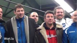 preview picture of video 'Tennis - Coupe FLT 2013 - Messieurs - TC Howald vs TC Rumelange/Kayldall'