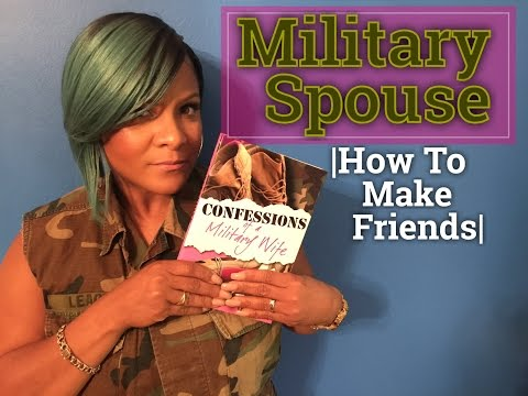 How to Make Friends as a MilSpouse