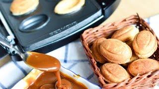 Печенье Орешки из детства ☆ Обзор мультипекаря от Redmond