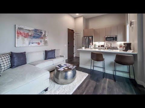 A furnished short-term one-bedroom at the West Loop's new Milieu