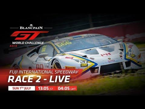 ブランパンGT アジア 鈴鹿サーキット RACE2フル動画