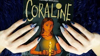 ASMR Reading * Graphic Novel Coraline