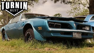 Abandoned 1978 Pontiac Trans Am Driven From Grave After 10 Years | Turnin Rust