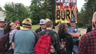 The Evergreen State College June 9th Hullabaloo: When the Confused Collide