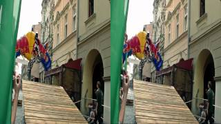preview picture of video 'Downhill w 3D Freestyle City Festival Cieszyn'