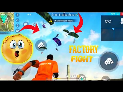 Free Fire Best Factory Fist Fight 👊   Solo vs Squad Gameplay 🎯 - Garena Free Fire #short #freefire