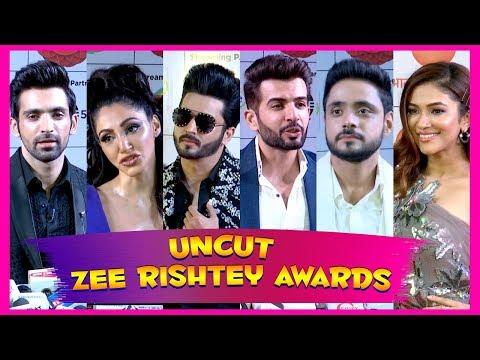 ZEE RISHTEY AWARDS 2019 | Reem shaikh, shehban  Azim, Dheeraj dooper and more- Telly bytes