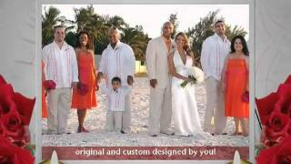 Beach Wedding Attire & Dresses