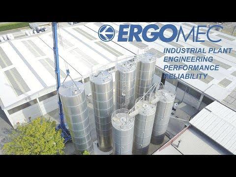 Ergomec - Impianto di stoccaggio granuli 4K