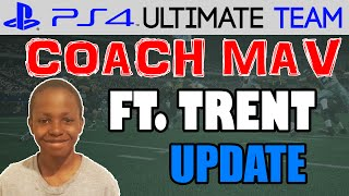 UPDATE AND PACK OPENING! | Coach Mav: Trent - UPDATE | Madden 15 Ultimate Team