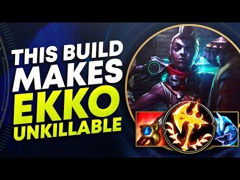 THIS BUILD MAKES TANK EKKO UNKILLABLE | League of Legends
