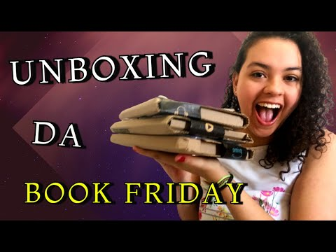 UNBOXING BOOK FRIDAY 2020 da AMAZON!! | Vivendo Mil Vidas