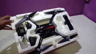 Unboxing Drone Legend Harga Rp 780.000 || MJX BUGS 2W || #Unboxing Part 4