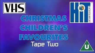 Opening to Christmas Children's Favourites Tape Two UK VHS (2003)