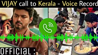 Breaking: Voice Call from Thalapathy to Palakkad Vijay Fans