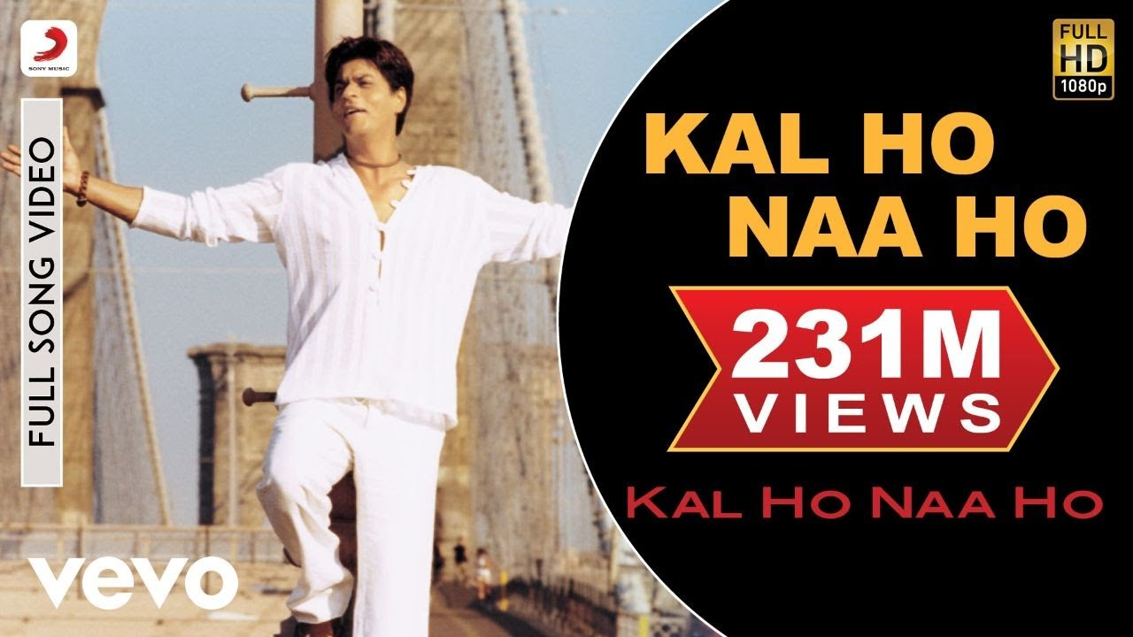 Kal Ho Naa Ho Song Lyrics in English - Sonu Nigam
