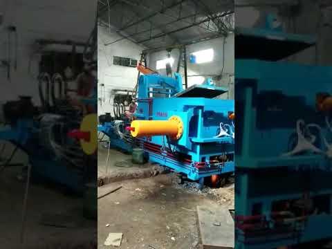 Scrap Baling Press