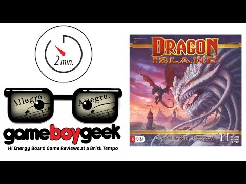 The Game Boy Geek's Allegro (2-min) Review of Dragon Island