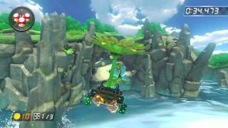Dolphin Shoals - 1:57.407 - banana (Mario Kart 8 World Record)