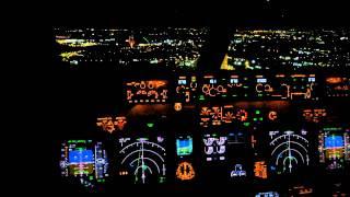 Night Approach BBU 737-800 (NG)