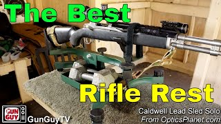 The Best Little Shooting Rest - The Caldwell Lead Sled Solo