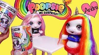 Gambar cover La muñeca bebé unicornio Arco Iris hace slime | Muñecas y juguetes con Andre para niñas y niños