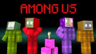 Monster School : Among Us Challenge - Minecraft Animation
