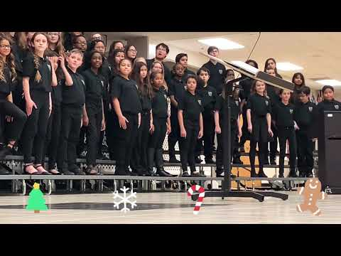 23 Christmas songs in 3 minutes! - Chorus performance