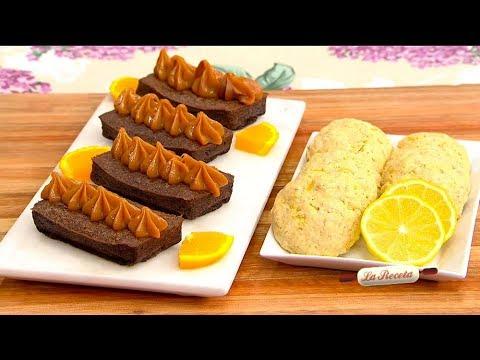 Cocinamos sin azúcar: budín de chocolate y naranja / galletitas de avena y limón